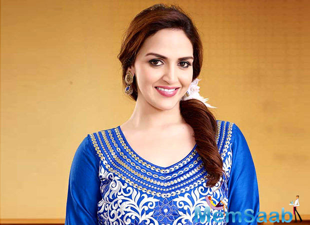 Esha Deol's tot accompanies her to rehearsals, and will be in the green room during the show.