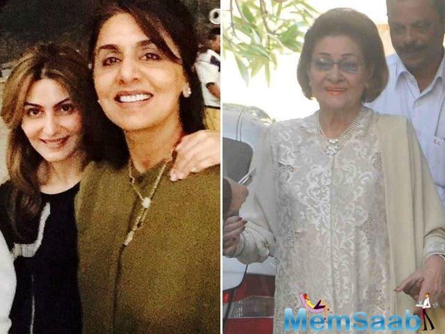 Neetu Kapoor calls mother-in-law Krishna Raj Kapoor, best human being and her 'best friend'