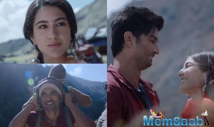 After much anticipation, the makers of Kedarnath have released the teaser of Sushant Singh Rajput and Sara Ali Khan starrer film, which gives a glimpse of the love story set against the backdrop of the floods of Kedarnath.
