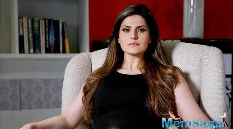 Angry Zareen Khan asks a man to delete her picture from his phone