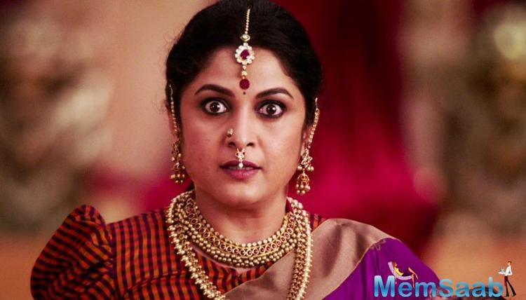 Challenging to step into Ramya Krishnan's shoes as Sivagami, says Mrunal Thakur