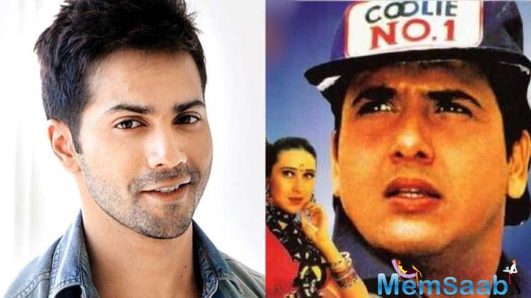 Varun Dhawan denies Coolie No.1 remake