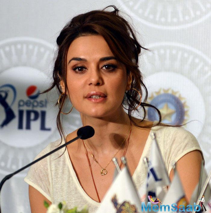 I don't want to do something that would embarrass my family: Preity Zinta