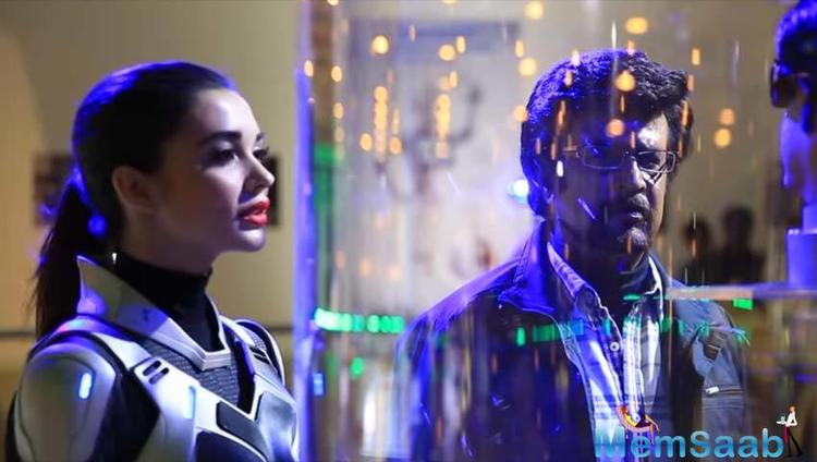 2.0, which features Rajinikanth in three different avatars, also stars Akshay Kumar, Amy Jackson, Adil Hussain and Sudhanshu Pandey in important roles.