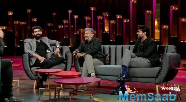 Koffee with Karan 6: Prabhas is the 'bad boy', reveals SS Rajamouli on the show
