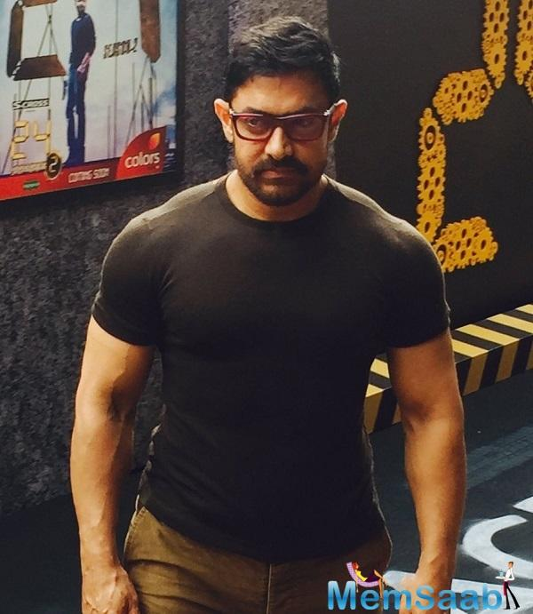 Aamir Khan: Getting back into shape for my next film