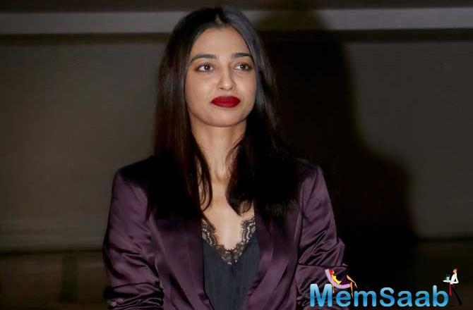 Radhika Apte: I really like being on the sets of films