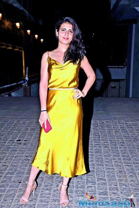 Fatima Sana Shaikh will see in a new avatar in Anurag Basu's next