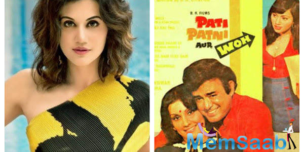 Pati Patni Aur Woh makers release a statement after Taapsee Pannu says 'I deserve an answer for being dropped'