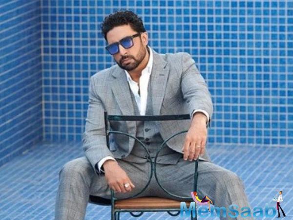 Shooting on my birthday is very comforting, says Abhishek Bachchan