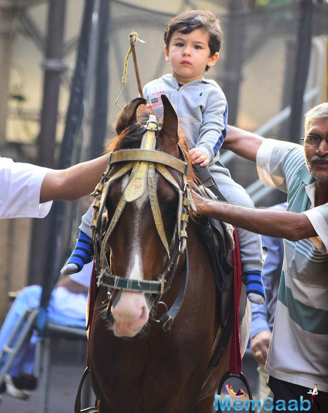 Taimur doesn't like to see mom Kareena Kapoor Khan wearing makeup, says Saif Ali Khan