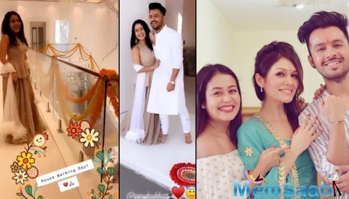 On February 7, 2019, Neha Kakkar shared some Insta stories of her 'life is good' phase as she has bought a new home and a car with siblings, Sonu Kakkar and Tony Kakkar.