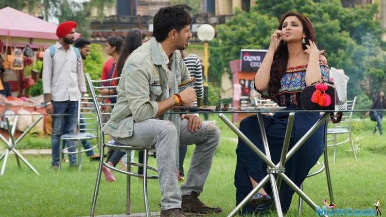 Jabariya Jodi Sidharth Malhotra and Parineeti Chopra spotted on a dinner date