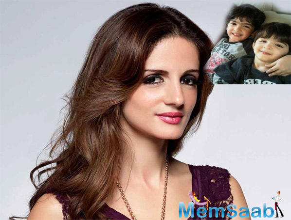 Sussanne Khan: My boys Hridhaan and Hrehaan give me all the inspiration
