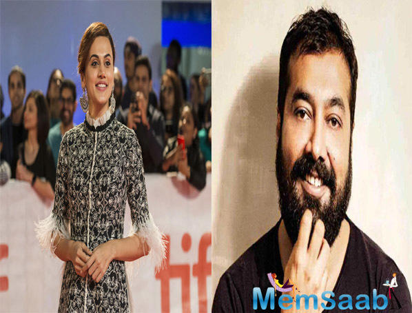 Taapsee Pannu-Anurag Kashyap collaborate again, this time to spook you out!