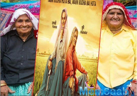 Saand ki Aankh: Taapsee Pannu and Bhumi Pednekar's grey look is out