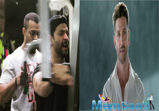 Roshan received a nod from fan-boy Tiger Shroff, who supported him with an encouraging,