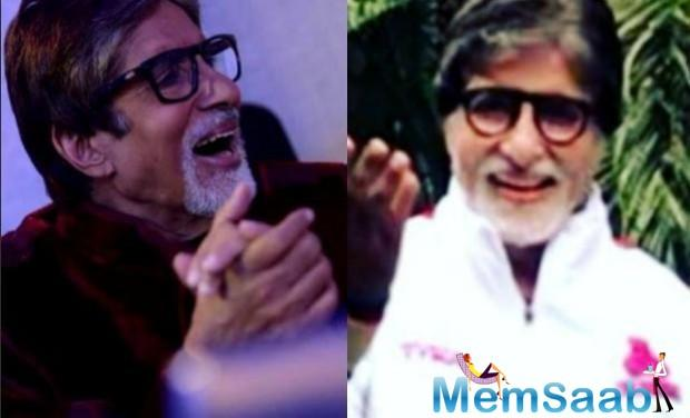 Amitabh Bachchan treats his fans with husband-wife jokes on social media