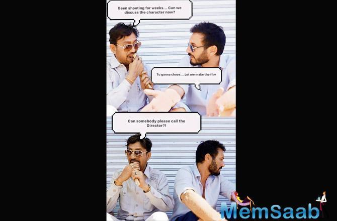 Angrezi Medium: Irrfan Khan shares hilarious picture with Homi Adjania