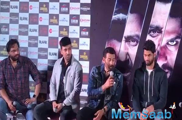 Karan Kapadia: Blank has become big due to Sunny Deol, Akshay Kumar