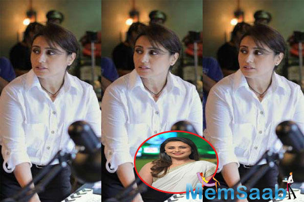 Finally, the first look of the actress from Mardaani 2 is here, and uniform-clad Rani Mukerji is all set to take on the goons.