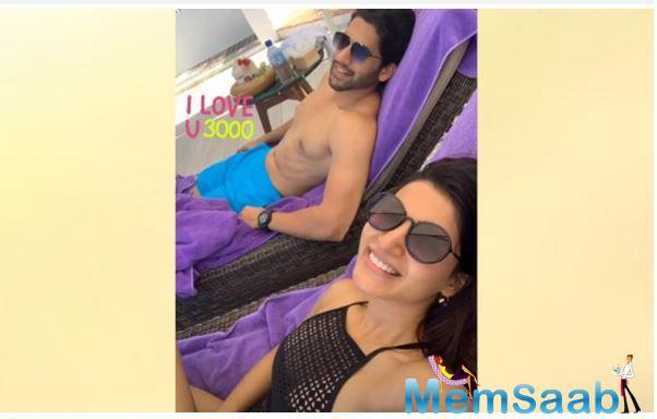 Recently, the 'Majili' actor shared her picture with hubby Naga Chaitanya on Instagram story in which we can see reference of 'Avengers: Endgame'.
