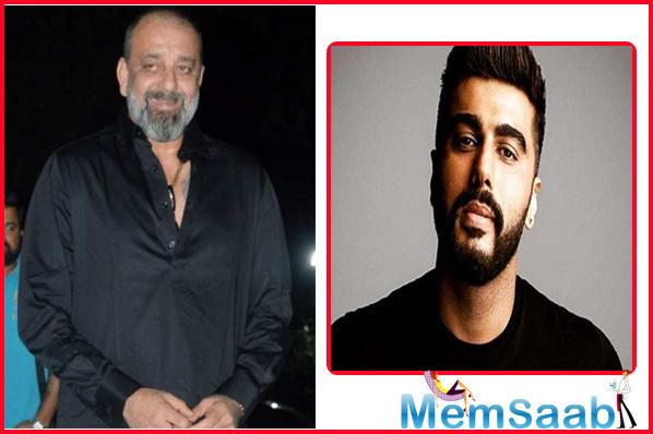 Arjun Kapoor can't imagine Sanjay Dutt as villian