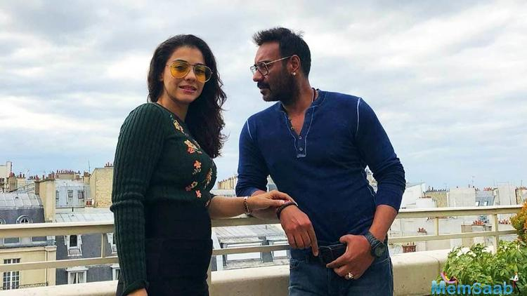 Ajay Devgn reveals that Kajol would pass a sarcastic taunt if she caught him staring at women