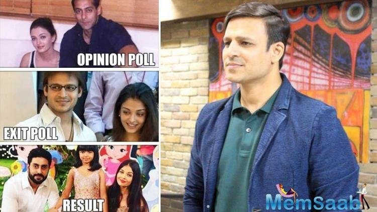 Vivek Oberoi on Tuesday apologised for his tweet featuring Aishwarya Rai Bachchan and deleted it later.