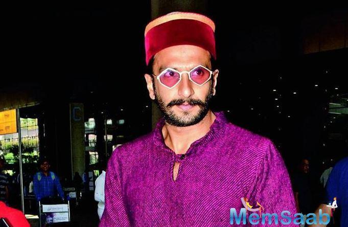 Ranveer Singh's London sojourn