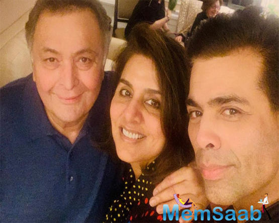 Neetu also reciprocated the love, and sharing the same photo, she wrote,