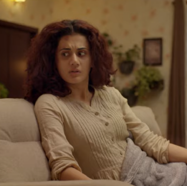 The actress took to her Twitter handle and announced the release of the trailer.