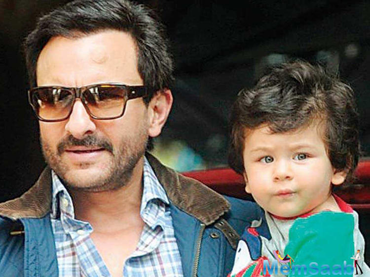 Saif Ali Khan: When I come home after work and find Taimur sleeping, I feel bad