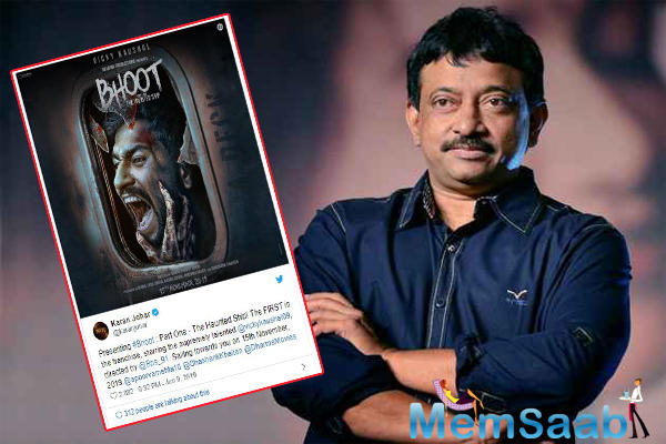 And now, the filmmaker officially announced his first horror franchise titled Bhoot: Part One - The Haunted Ship, along with the film's poster.