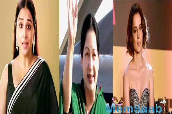 Tamil filmmaker AL Vijay has taken upon himself the responsibility of making a biopic on legendary actress and strong politician J Jayalalithaa titled Thalaivi and has cast Bollywood actress Kanchana Ranaut in the titular role.