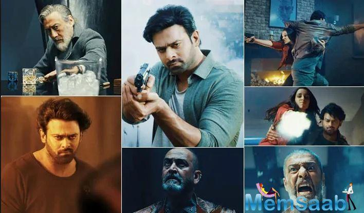The teaser has already action-sequence filled to its brim, which tells us that this movie will be the one to remember. Prabhas and Shraddha Kapoor's commendable look has set the right notes for action lovers.