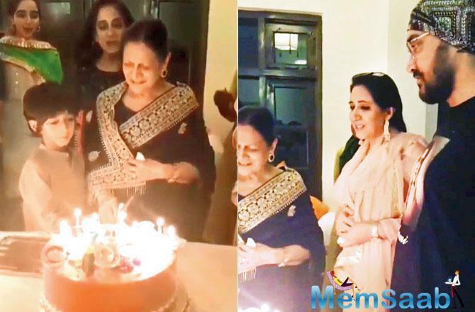 Inside photos: Aamir Khan's 'Ammi's' 85th birthday celebration