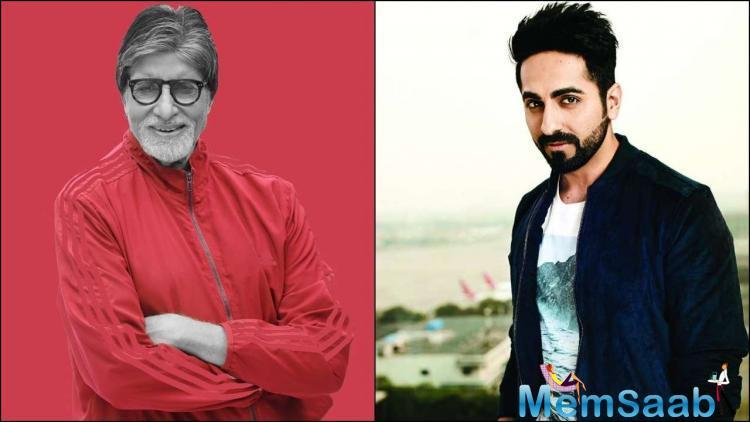 Ayushmann opens up on working with Amitabh Bachchan: I don't know how will I feel when I face Big B