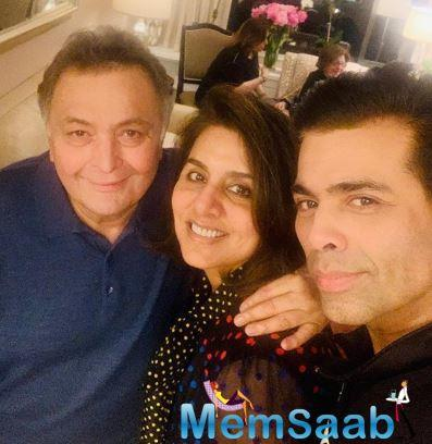 Almost a year back, Rishi Kapoor left for the USA for some medical treatment as he took to Twitter to inform all his followers.