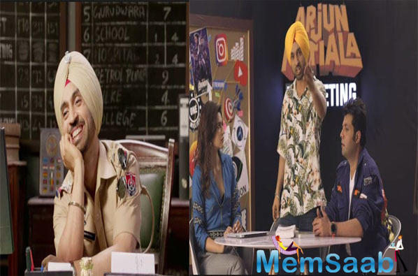 Arjun Patiala trailer out: Action, drama, romance and comedy galore in this Kriti-Diljit starrer