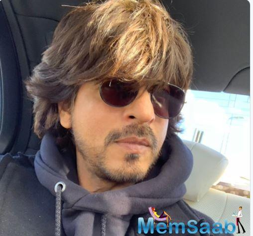 SRK has also been shooting for the second season of TED Talks in Mumbai.