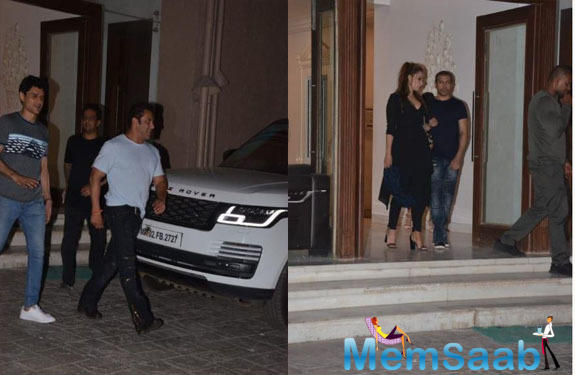 Salman Khan and Iulia Vantur get snapped together after a long time; See photos