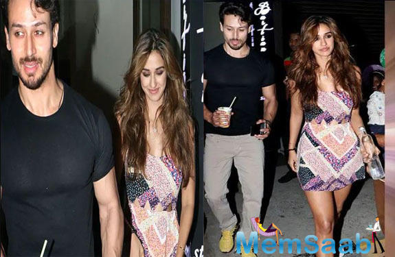 Tiger Shroff and Disha Patani are all smiles post their dinner date