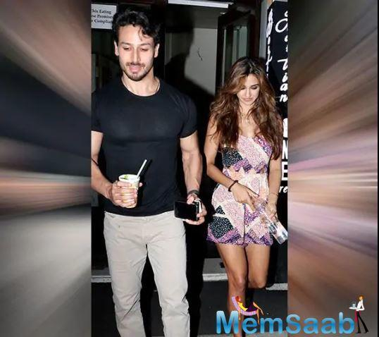 Tiger Shroff and Disha Patani are all smiles post their
