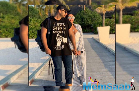 Both Malaika and Arjun have been in the news for quite some time because of their relationship but none of them have spoken about the same publicly.
