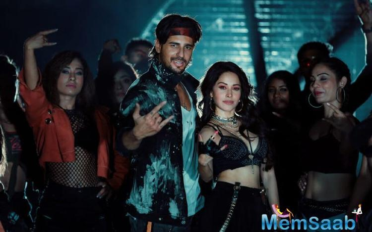 Nushrat Bharucha and Sidharth Malhotra shoot for Yo Yo Honey Singh's Peeyo Datke