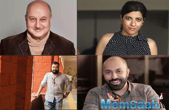Zoya Akhtar, Anurag Kashyap, Anupam Kher and Ritesh Batra invited to join the Oscar Academy