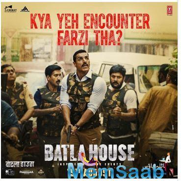 'Batla House': John Abraham shares a new intriguing poster