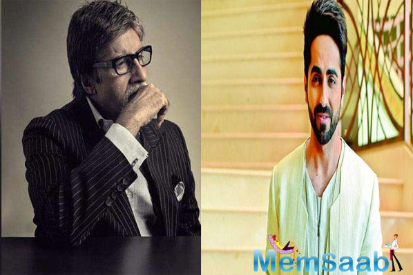 Ayushmann has been a huge fan of Big B since he was a kid and of course, he is ecstatic to learn from the icon. He is grateful to Sircar for casting him alongside the megastar.