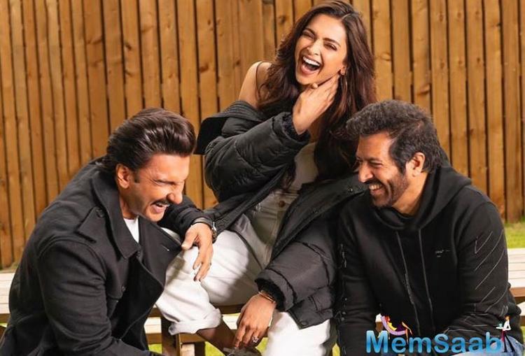 Kabir Khan's daughter, Sairah, chills with Deepika Padukone on the sets of '83